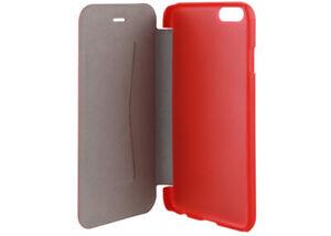 "Genuine Xqisit Folio Rana Case for iPhone 6 / 6S (4.7"") - Red Metallic"