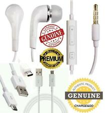 Samsung Galaxy S3 S4 S5 S6 Note Earphones Headphones & Micro USB Charger Cable