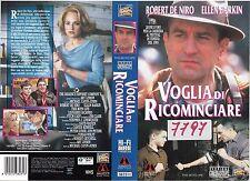 VOGLIA DI RICOMINCIARE (1993) vhs ex noleggio