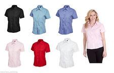 Women's Polycotton No Pattern Classic Tops & Shirts
