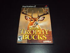 """Cabela's Trophy Bucks """"Great Condition"""" (PlayStation 2) Complete"""