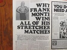 1978 Wrestling's Greatest Battles(FRANK MONTE/SAILOR WHITE/SUE GREEN/TONY GAREA)