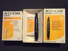 Accu-Chek Softclix Lancing Device + 225 Lancets (25 + 200)