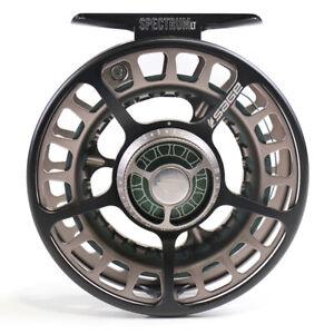 Sage Spectrum LT Reel - Size 5/6 - Black Spruce/Silver - Excellent Condition!