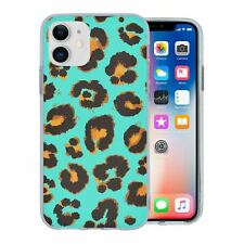 For Apple iPhone 11 Silicone Case Leopard Pattern - S1315