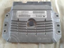 renault ecu plug and play virgin will selfcode S3000 8200283924 8200242805