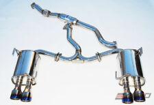 INVIDIA Q300 110mm 4 Roll Titanium Tip Catback Exhaust for WRX STi 11-14 Sedan