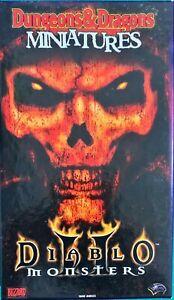 Diablo 2 II Monsters - Dungeons & Dragons Miniatures - RARE WOTC RPG