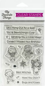"My Favorite Things Clear Stamps 4""X6""-Boo Crew"