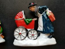 """Department 56 The Original Snow Village """"Nanny and the Preschoolers"""" #5430-5 New"""