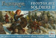 Northstar and Osprey Frostgrave Soldiers II Multi-part plastic 28mm (20) New