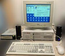 Ordinateur Computer PC Vintage Olivetti M6 460 Suprema + upgrades + SCSI CD
