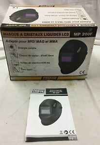 MASQUES a CRISTAUX Liquides Modele MP 200F Marque PorFor Protection Casques