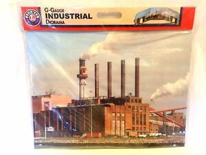 LIONEL 7-11141 INDUSTRIAL G-SCALE DIORAMA - SCENERY - LAYOUT - BNIOP