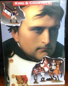 NEW! 2014 WWII King & Country Age of Napoleon - 12 Pages