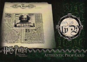 Harry Potter Prisoner of Azkaban Daily Prophet Prop Card
