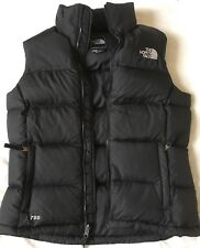 Ladies NORTH FACE Nuptse II Gilet 700 Down Filled - Size Small