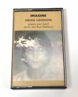 JOHN LENNON PLASTIC ONO BAND IMAGINE CASSETTE TAPE ORIGINAL EMI APPLE UK 1971