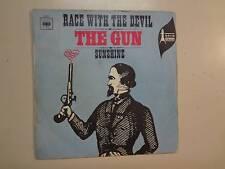 "GUN:w/A. Gurvitz-Race w/The Devil 2:32-Sunshine 2:27-France 7"" 68 CBS 3764 PSL"