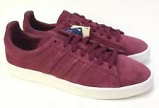 lowest price f0ed0 add01 MENS SHOES SNEAKERS ADIDAS ORGINALS CAMPUS STITCH CQ2472 Burgundy Suede 9  NEW
