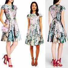 TED BAKER size 5 - DIXIEE Garden Flower Prints Dress size 14 USA NEW $395