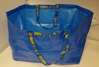 2 NEW blue IKEA FRAKTA sturdy Storage Bags *19 Gallons* Amazing carrying bags
