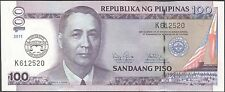 TWN - PHILIPPINES 212B - 100 P 2011 UNC - 100th Ann. of College of Law - Pref. K