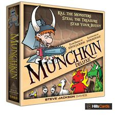 Deluxe Munchkin Card Game: Kill Monsters, Steal Treasure, Stab your Buddy: Board
