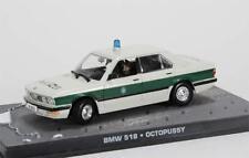 Rare 1/43 James Bond 007 BMW 518 Police Octopussy Deagostini