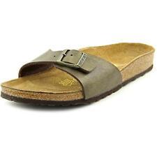 Birkenstock Damen-Sandalen & -Badeschuhe aus Synthetik für Kleiner Absatz (Kleiner als 3 cm)