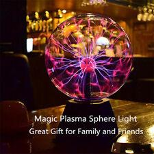 Magic Plasma Ball Lamp Light Crystal Touch Nebula Globe...