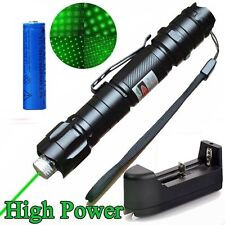 10Mile Powerful Green Laser Pointer Pen 5mw 532nm Green Laser Pen+Batt+Charger