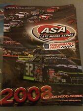 2008 ASA Late Model Series Race Season Program
