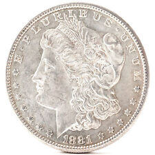 1881 O Morgan Silver One Dollar New Orleans Silber Münze USA Amerika coin