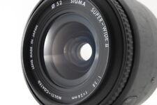 """""""Excellent+"""" Sigma Super Wide ll AF 24mm f/2.8 for Canon EF Film Camera frmJapan"""