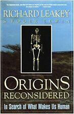 ORIGINS RECONSIDERED Leakey Anthropology Human History Man Fossil Hunting