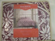 Opalhouse Purple Merlot Medallion Duvet Cover Set 3 pc Full / Queen