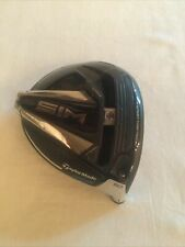TaylorMade SIM *8.0* RH Driver - Head ONLY, Barely Used MINT! SHIPS FAST-TODAY,