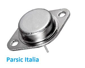 2SC1185 Silicon NPN Power Trans., 250V, 0.7A, 50W, TO-3 (QTY: 1 PEZZO )