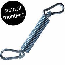 Hängesessel Schwingfeder mit 2 starken Karabiner-Haken - Made in Germany!
