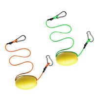 2 Pieces Buoy Anchor Kayak Canoe Drift Float with Kayak Tow Rope Throw Line