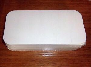 Deckel für Aluschalen R14L, 215x105 mm, Karton mit Alukaschierung, 100 Stück