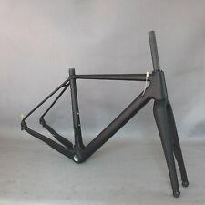 2021 NEW Gravel bike carbon frame 700*42C flat mount Cyclocross Disc frame GR029