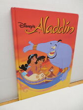 Alladin Disney Oversized Story Book Hardback Genie Jafar
