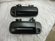 1990 1991 1992 1993 ACURA INTEGRA  LEFT LH & RIGHT RH OUTSIDE DOOR HANDLES BLACK