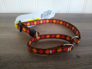 Yellow Dog Design XS FALL Martingale Collar Safe Control Small Dogs Extra Small