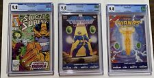 Silver Surfer 44 Thanos Quest 1 2 Infinity Gauntlet War Crusade 1-6 Cgc 9.8.