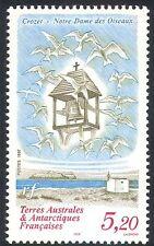 FSAT/TAAF 1997 Terns/Birds/Bell Tower/Church/Buildings/Nature 1v (n22744)