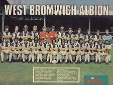 WEST BROMWICH ALBION FOOTBALL TEAM PHOTO>1974-75 SEASON