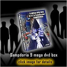 COFANETTO 8 DVD ULTRAS TITO CUCCHIARONI & FEDELISSIMI SAMPDORIA  (UTC69,DORIA)